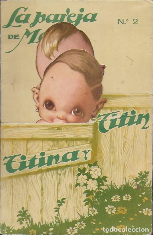 TINTIN Y TINTINA Nº 2. EDICIONES BARSAL BARCELONA (Coleccionismo - Recortables - Muñecas)