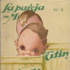 Coleccionismo Recortables: TINTIN Y TINTINA Nº 2. EDICIONES BARSAL BARCELONA. Lote 194956618