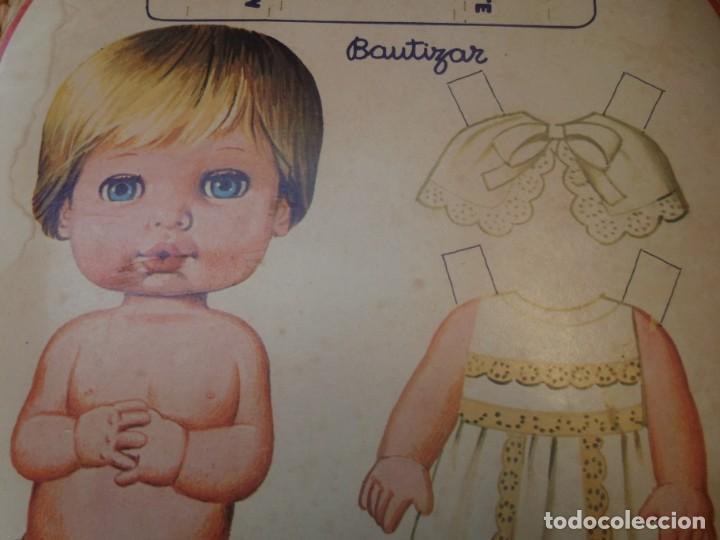 BABY MOCOSETE -CARTÓN RECORTABLE (Coleccionismo - Recortables - Muñecas)