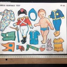 Coleccionismo Recortables: MUÑECAS RECORTABLES BOGA Nº 454. Lote 195405411
