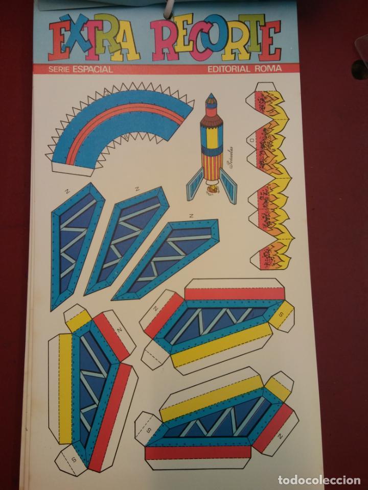Coleccionismo Recortables: LOTE DE EXTRA RECORTE. SERIE ESPACIAL. EDITORIAL ROMA. COMO PARA ABRIR UNA TIENDA. VER FOTOS. - Foto 4 - 195969230