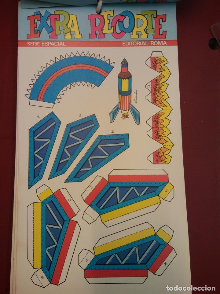 Coleccionismo Recortables: LOTE DE EXTRA RECORTE. SERIE ESPACIAL. EDITORIAL ROMA. COMO PARA ABRIR UNA TIENDA. VER FOTOS. - Foto 3 - 195969402