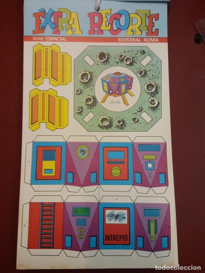 Coleccionismo Recortables: LOTE DE EXTRA RECORTE. SERIE ESPACIAL. EDITORIAL ROMA. COMO PARA ABRIR UNA TIENDA. VER FOTOS. - Foto 5 - 195969402