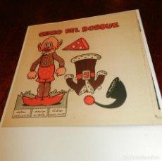Coleccionismo Recortables: RECORTABLE DEL GENIO DEL BOSQUE DE LA REVISTA MIS CHICAS,APARECE EN LOS CUENTOS DE ANITA DIMINUTA. . Lote 196641672