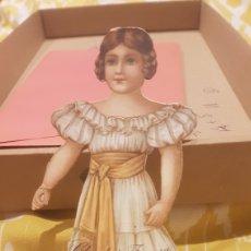 Coleccionismo Recortables: CROMO TROQUELADO CHOCOLATES JUNCOSA SERIE X N.1. Lote 198058488