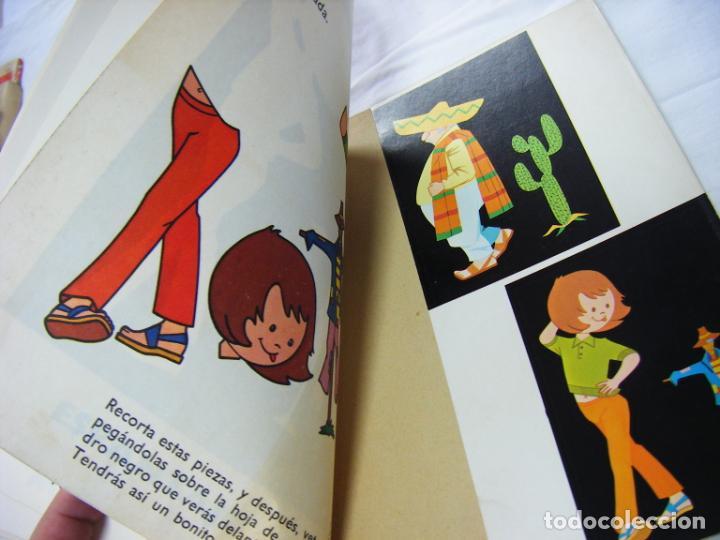 Coleccionismo Recortables: JML CUADERNO RECORTABLES ALBUMES EDUCATIVOS EVA Nº 3 VASCO AMERICANA 1975 BILBAO VER FOTOS. - Foto 6 - 199122828