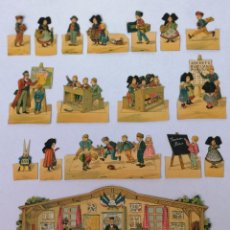 Coleccionismo Recortables: ESCUELA, CLASSE ALSACIENNE PRO FAMILIA EDT H. BOUQUET PARIS. Lote 200694017