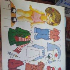 Coleccionismo Recortables: RECORTABLE DE NIÑAS ORIGINAL, ANA, AÑO 1978. Lote 201183153