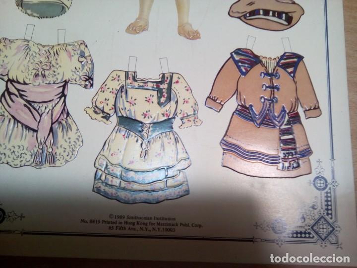 Coleccionismo Recortables: * MUñECA RECORTABLE.AMERICAN PER.1989. (Rf:P/*)5 - Foto 3 - 201896885