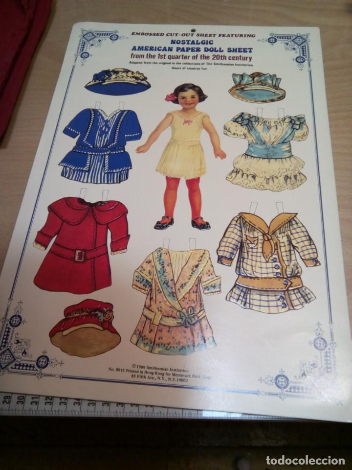 Coleccionismo Recortables: * MUñECA RECORTABLE.AMERICAN PER.1989. (Rf:P/*)5 - Foto 4 - 201896885