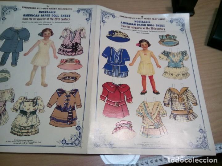 Coleccionismo Recortables: * MUñECA RECORTABLE.AMERICAN PER.1989. (Rf:P/*)5 - Foto 7 - 201896885