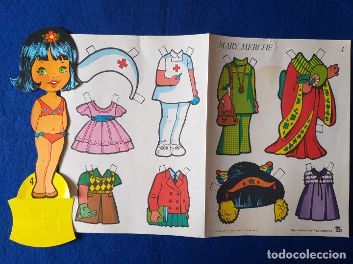 Coleccionismo Recortables: Recortable de Mary Merche # 4. Original. Años 70. - Foto 2 - 202007428