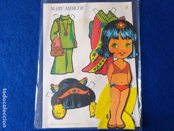 Coleccionismo Recortables: Recortable de Mary Merche # 4. Original. Años 70. - Foto 4 - 202007428