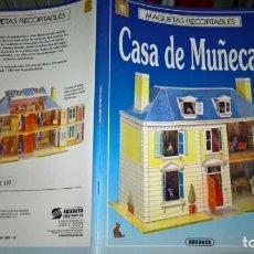 Coleccionismo Recortables: MAQUETAS RECORTABLES Nº 14 CASA DE MUÑECAS SUSAETA. Lote 203845706