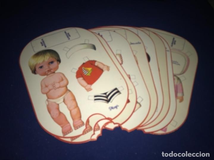 8 RECORTABLE BABY MOCOSETE AÑOS 70 NUEVOS (Coleccionismo - Recortables - Muñecas)