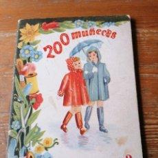 Coleccionismo Recortables: 200 MUÑECAS. COL. ENSUEÑO. N. 2. Lote 205086701