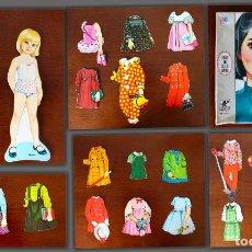 Coleccionismo Recortables: SUSAN MUÑECAS DE PAPEL MAGNÉTIC MAGIC MARY - BORRAS CON LICENCIA MB. Lote 206228747