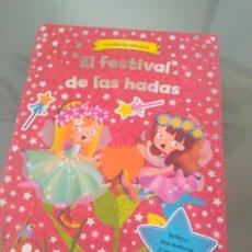 Coleccionismo Recortables: LIBRO CUENTO RECORTABLE CAMBIA DE VESTUARIO DE SUSAETA EL FESTIVAL DE LAS HADAS. Lote 207939085