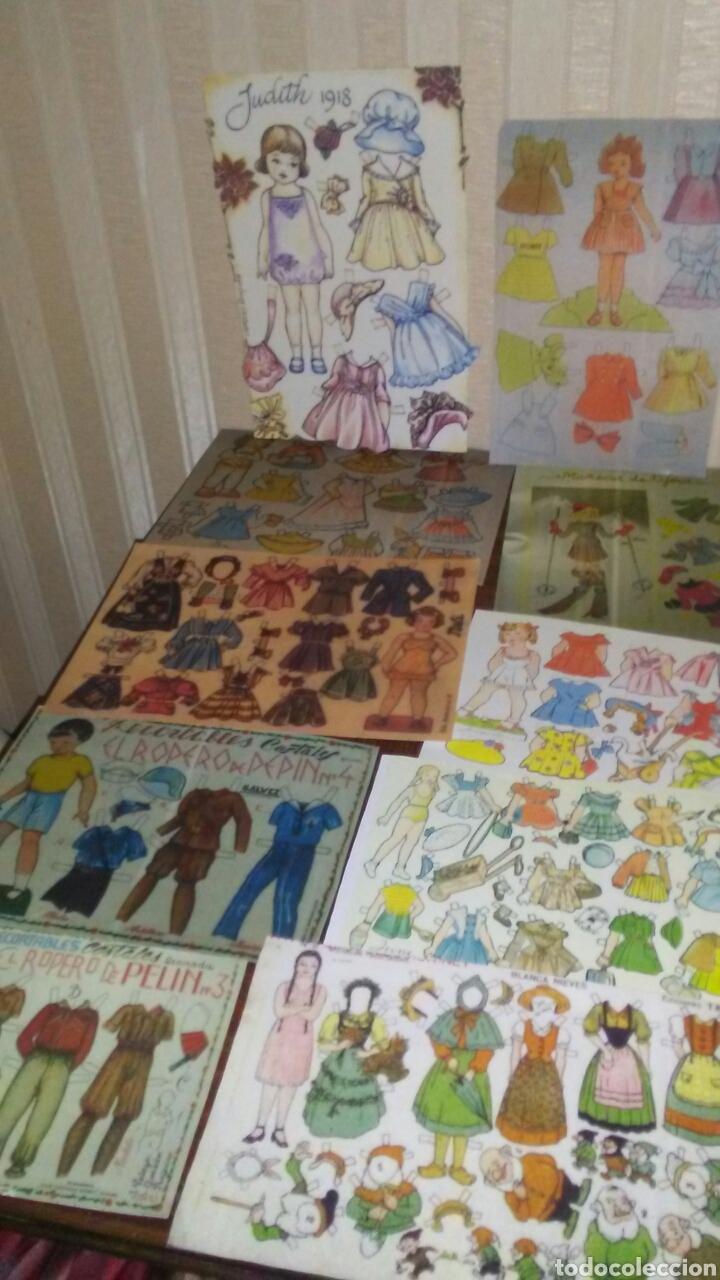Coleccionismo Recortables: Lote de 40 recortables ,son reproducion,tal cual se ve la foto .(leer descripción) - Foto 6 - 208149980