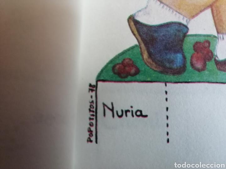 Coleccionismo Recortables: Lote 10 láminas Muñecas Recortables Amaya, ed. Zulia 1978 - Foto 6 - 208369137