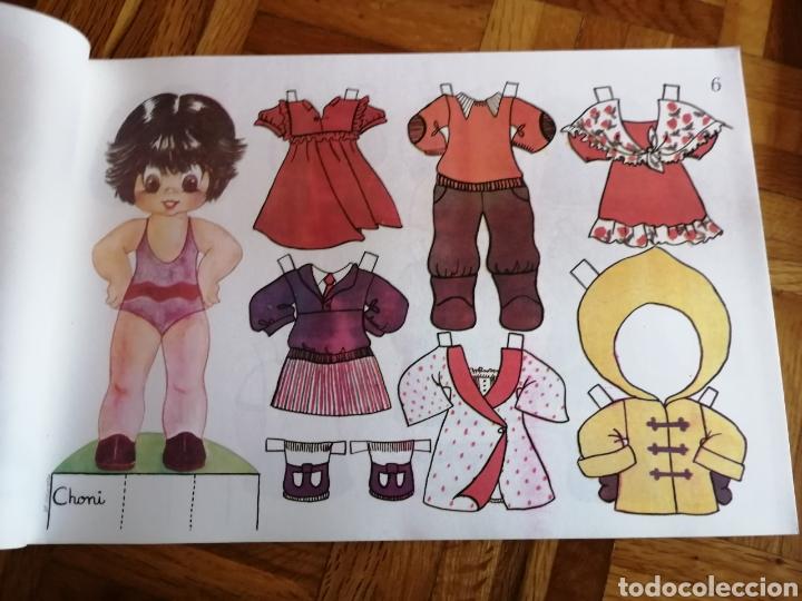 Coleccionismo Recortables: Lote 10 láminas Muñecas Recortables Amaya, ed. Zulia 1978 - Foto 7 - 208369137