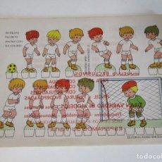Coleccionismo Recortables: RECORTABLES BABY ESCENAS INFANTILES Nº 2 EDITORIAL ROMA MI EQUIPO FAVORITO. Lote 208958743