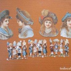 Coleccionismo Recortables: RECORTABLES ANTIGUOS. Lote 212851548
