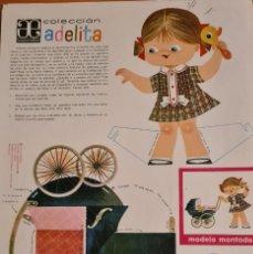 Coleccionismo Recortables: COLECCIÓN ADELITA. EDICIONES ARNALOT. ORIGINAL. Lote 213507370