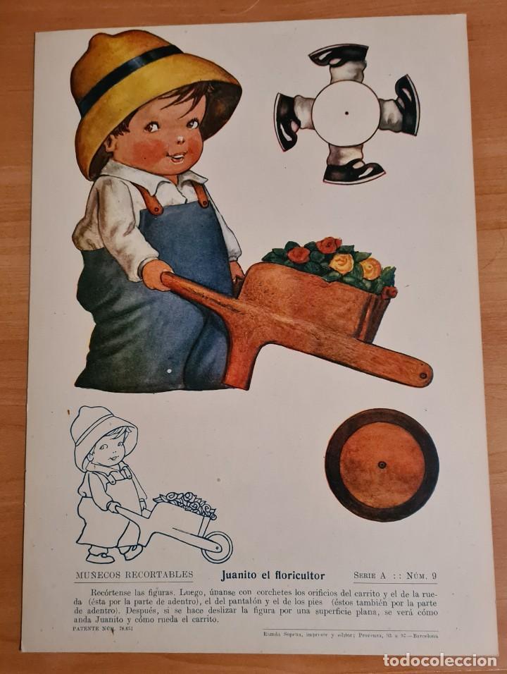 RAMON SOPENA. ORIGINAL. 28 X 20 CM (Coleccionismo - Recortables - Muñecas)