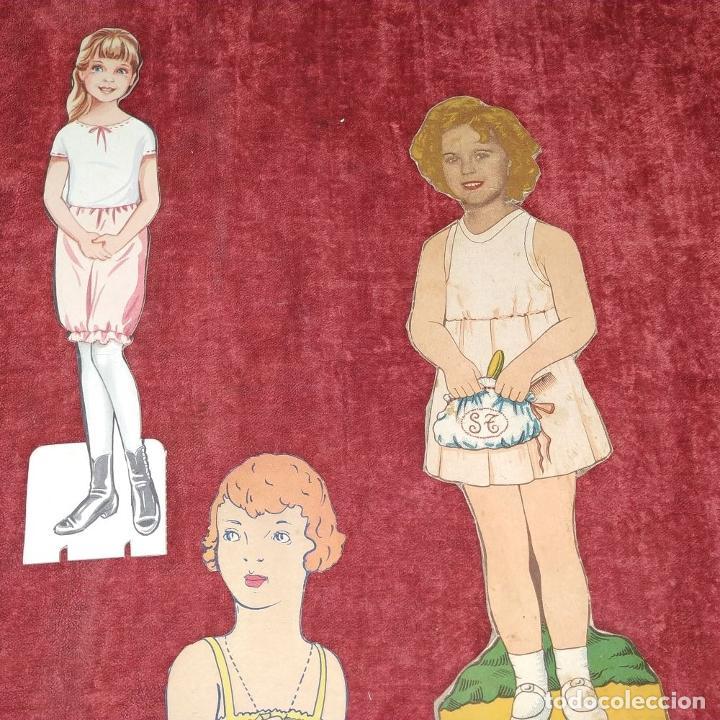 Coleccionismo Recortables: LOTE DE 53 MUÑECOS RECORTABLES. CARTULINA A COLOR. DE U.S.A. Y OTROS. A PARTIR DE 1930 - Foto 18 - 215618868
