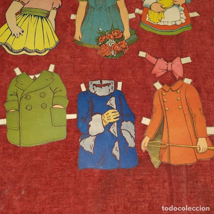 Coleccionismo Recortables: LOTE DE 53 MUÑECOS RECORTABLES. CARTULINA A COLOR. DE U.S.A. Y OTROS. A PARTIR DE 1930 - Foto 19 - 215618868