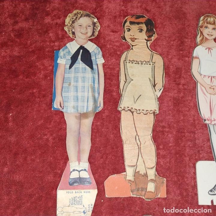 Coleccionismo Recortables: LOTE DE 53 MUÑECOS RECORTABLES. CARTULINA A COLOR. DE U.S.A. Y OTROS. A PARTIR DE 1930 - Foto 20 - 215618868