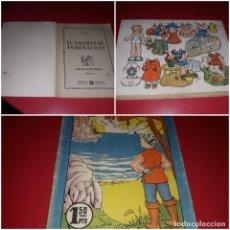 Coleccionismo Recortables: COLECCIÓN BLANCANIEVES CUENTO CON RECORTABLE 1ª EDICIÓN 1952. Lote 218146247
