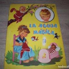 Coleccionismo Recortables: RECORTABLE LA AGUJA MAGICA CON MUÑECA, CUENTO Y VESTIDOS. Lote 218626133