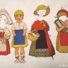 Coleccionismo Recortables: MIMI VESTIDOS Y ACCESORIOS RECORTABLE CONSTRUCCIONES EL NIÑO, BUEN ESTADO. MED. 23 CM. Lote 219167511