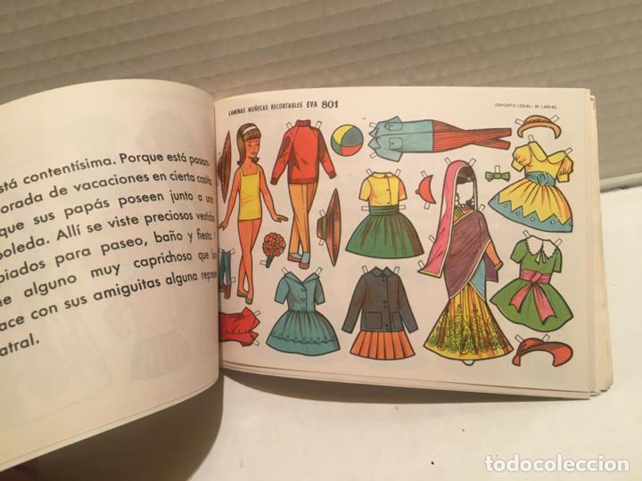 Coleccionismo Recortables: BLOCK RECORTABLES MUÑECAS 50 LAMINAS AÑO 1962 - Foto 4 - 221515905