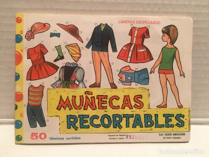 BLOCK RECORTABLES MUÑECAS 50 LAMINAS AÑO 1962 (Coleccionismo - Recortables - Muñecas)