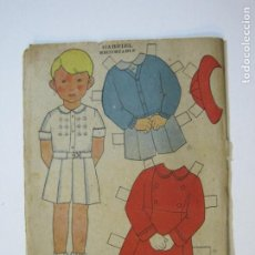 Coleccionismo Recortables: GABRIEL-RECORTABLE ANTIGUO MUÑECO-VER FOTOS-(K-784). Lote 221837793