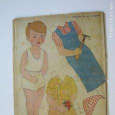 Coleccionismo Recortables: TITIN EN EL CAMPO-RECORTABLE ANTIGUO MUÑECO-VER FOTOS-(K-786). Lote 221837856