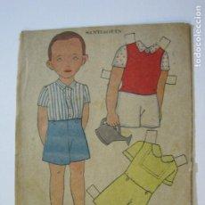 Coleccionismo Recortables: SANTIAGUIN-RECORTABLE ANTIGUO MUÑECO-VER FOTOS-(K-788). Lote 221837955