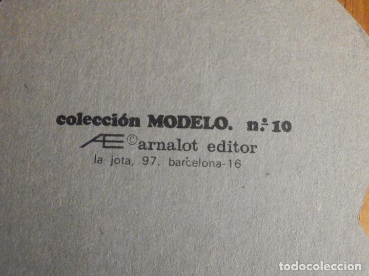 Coleccionismo Recortables: Antiguas muneca para poner vestidos recortables - Arnalot - Colección Modelo 10 - 19 cm - Foto 3 - 222693671