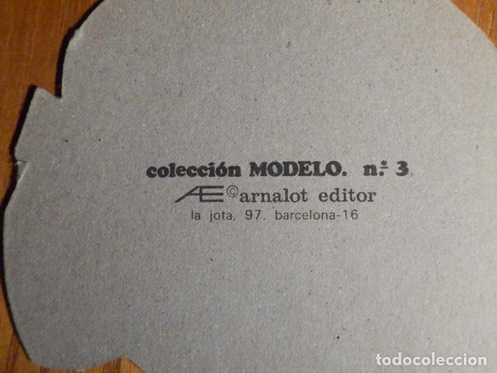 Coleccionismo Recortables: ANTIGUAS MUNECA PARA PONER VESTIDOS RECORTABLES - ARNALOT - COLECCIÓN MODELO 3 - 19 CM - Foto 3 - 222694693