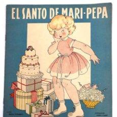 Coleccionismo Recortables: CUENTO EL SANTO DE MARI-PEPA CON SUPLEMENTO RECORTABLE. MARIA CLARET. COMPLETO. Lote 222788373
