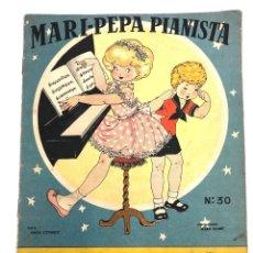 Coleccionismo Recortables: CUENTO MARI PEPA PIANISTA CON SUPLEMENTO RECORTABLE. MARIA CLARET. COMPLETO. Lote 222789128