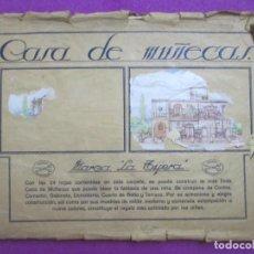 Coleccionismo Recortables: RECORTABLE CASA DE MUÑECAS MARCA LA TIJERA VER FOTOS DE LAS HOJAS QUE HAY. Lote 226836065