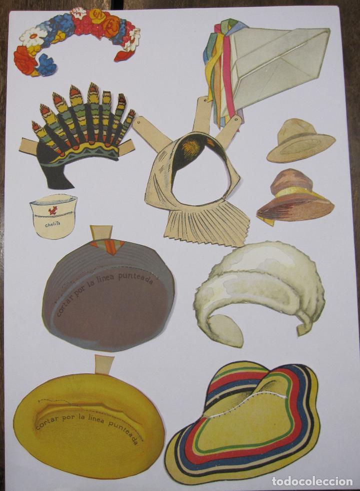 Coleccionismo Recortables: IMPORTANTE Y ANTIGUA COLECCIÓN DE MUÑECAS / MUÑECOS RECORTABLES. VESTIDOS. COMPLEMENTOS. VER FOTOS - Foto 43 - 228420055