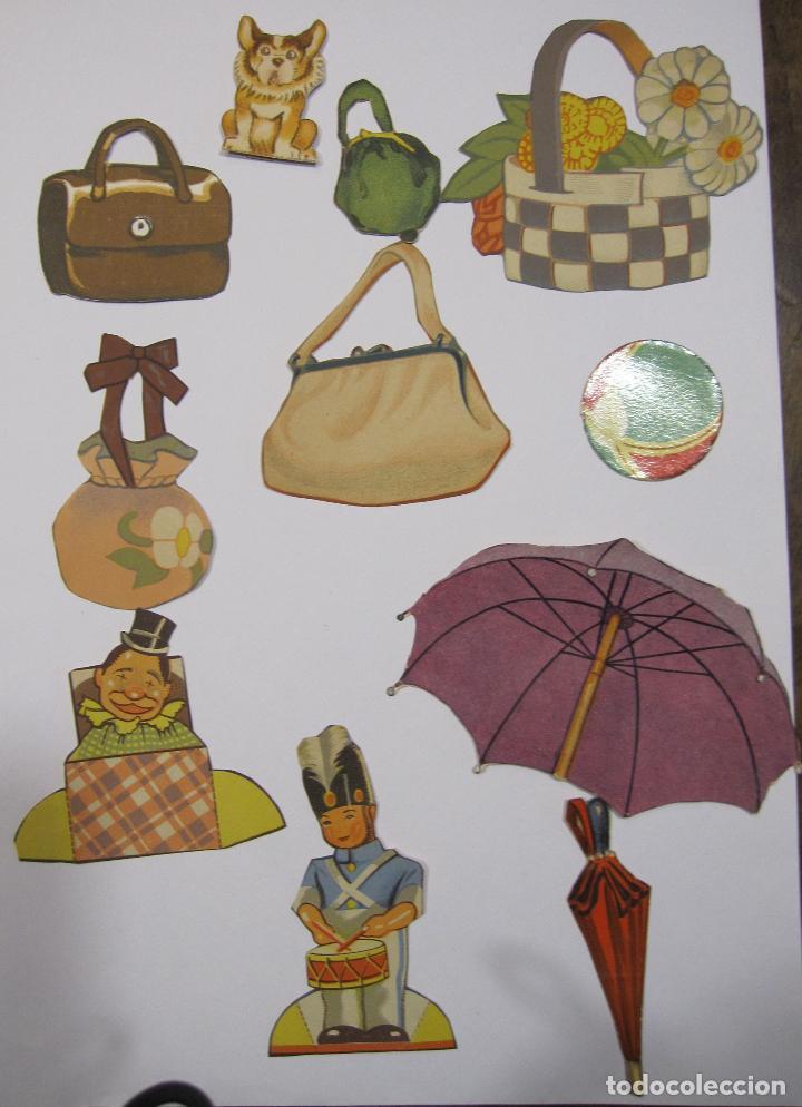 Coleccionismo Recortables: IMPORTANTE Y ANTIGUA COLECCIÓN DE MUÑECAS / MUÑECOS RECORTABLES. VESTIDOS. COMPLEMENTOS. VER FOTOS - Foto 47 - 228420055