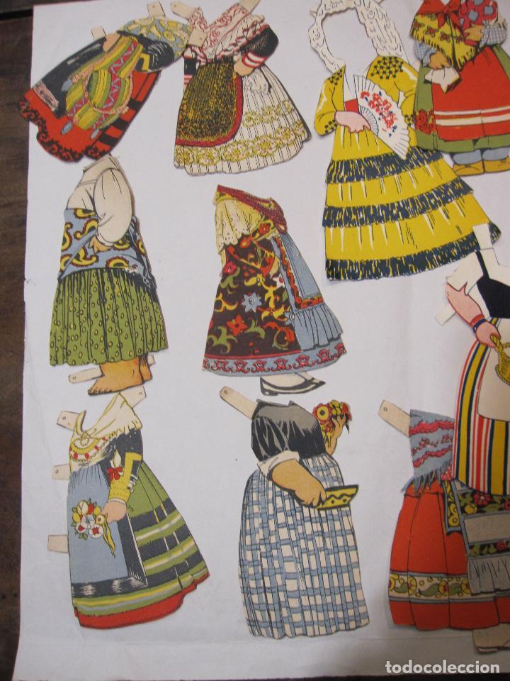 Coleccionismo Recortables: IMPORTANTE Y ANTIGUA COLECCIÓN DE MUÑECAS / MUÑECOS RECORTABLES. VESTIDOS. COMPLEMENTOS. VER FOTOS - Foto 54 - 228420055