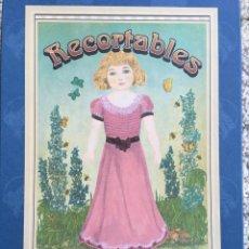 Coleccionismo Recortables: MUÑECAS RECORTABLES. CAYRO COLLECTION. REPRODUCCIÓN AÑOS 20. Lote 235463400