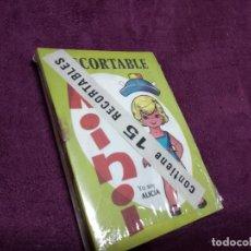 Coleccionismo Recortables: LOTE DE 15 LIBRITOS CON ROCORTABLES NENAS, EN SU BLISTER, 1970´S, BILBAO, UNOS 13 X 9 CMS.. Lote 235990435